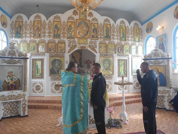 В ИК-19 состоялась Божественная литургия в честь празднования преподобного Серафима Саровского