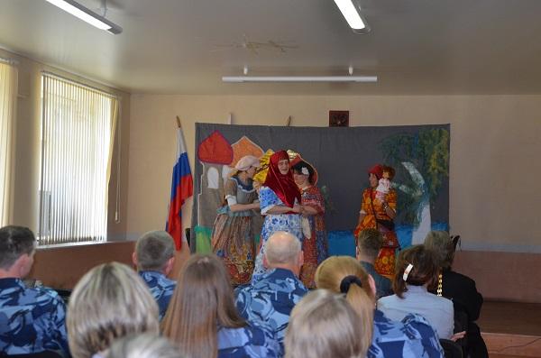 """Православный театр """"Весна"""" выступил в СИЗО-3"""