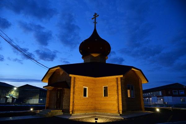 В ИК-54 открылся Храм, который возводился осужденными при помощи общественности и администрации учреждения ВИДЕО