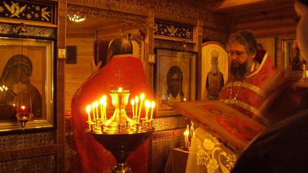 В храме СИЗО-5 состоялась праздничная служба