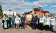 Сотрудники верхотурской ИК-53 приняли участие в крестном ходе