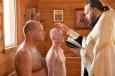 В ИК-54 священник провёл службу и таинство крещения ВИДЕО