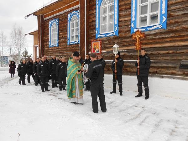 У православной общины ИК-19 состоялся храмовый праздник ВИДЕО