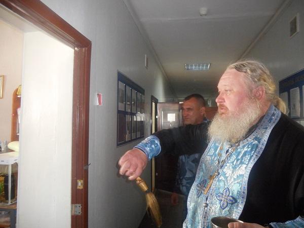 В СИЗО-3 священник встретился с осужденными