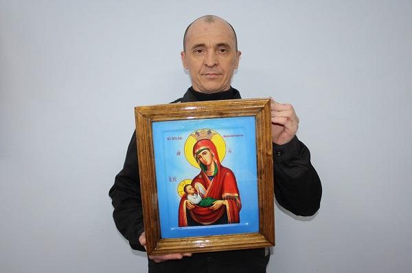 Осужденный ЛИУ-51 написал икону для всероссийского конкурса православной иконописи «Канон» ВИДЕО