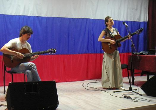 В ИК-47 состоялся концерт певицы Светланы Копыловой