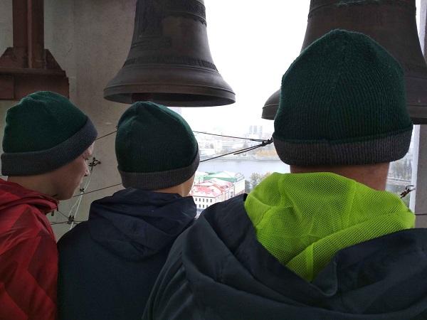 12 воспитанников Кировградской воспитательной колонии посетили Храм на Крови и Ганину Яму